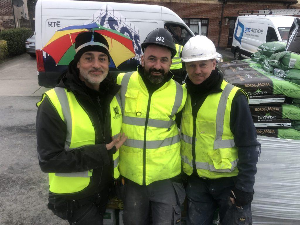 Baz, Rob and Brendan